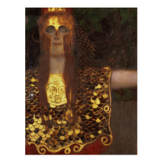 Minerva oder Pallas Athene Postkarte