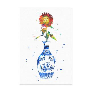 Ming Vase Leinwanddruck