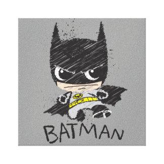 Mini klassische Batman-Skizze Gespannte Galerie Drucke