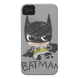 Mini klassische Batman-Skizze iPhone 4 Hülle