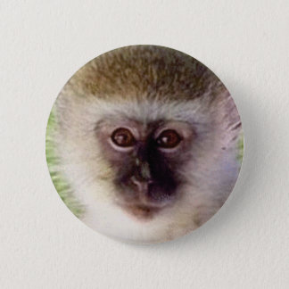 Miniaffekopf Runder Button 5,1 Cm