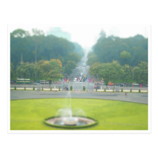 Miniaturen: Vom Wiedervereinigung-Palast Postkarte