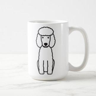 Miniaturpudel-HundeCartoon Kaffeetasse