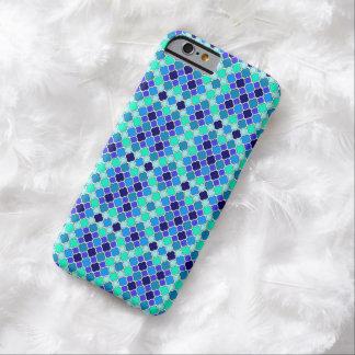 Miniaturschatten von Blauem, von aquamarinem u. Barely There iPhone 6 Hülle