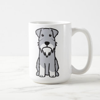 Miniaturschnauzer-HundeCartoon Kaffeetasse