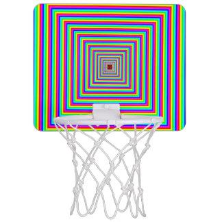 MiniBasketballkorb - optische Illusion Mini Basketball Ring