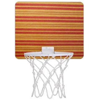 MiniBasketballkorb - verblaßte Streifen - Mini Basketball Netz