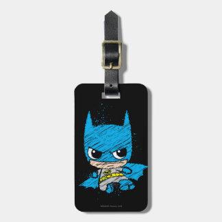 MiniBatman-Skizze Kofferanhänger