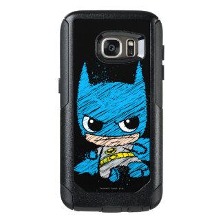 MiniBatman-Skizze OtterBox Samsung Galaxy S7 Hülle