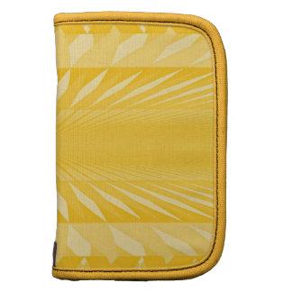 Minifolioplaner in den weichen Gelbs Mappen