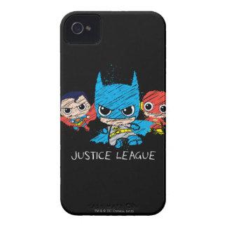 Minigerechtigkeits-Liga-Skizze iPhone 4 Cover