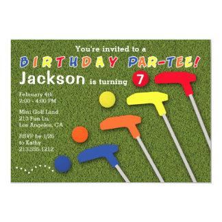 golfball einladungen | zazzle.de, Einladung