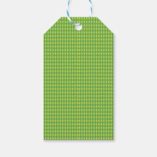 Minigrün der harlekin-Diamant-| Geschenkanhänger