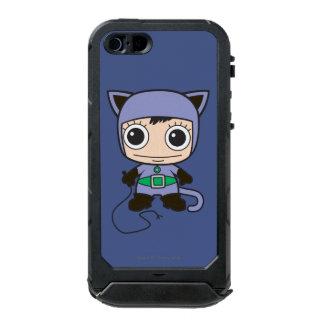 Minikatzen-Frau Incipio ATLAS ID™ iPhone 5 Hülle
