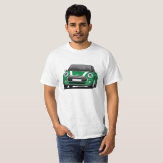 Miniluken-Fassbinderillustration, Grün - Weiß T-Shirt