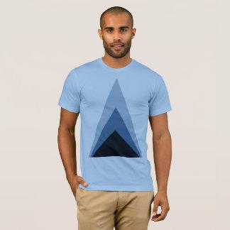 Minimal Fading Triangle T-Shirt