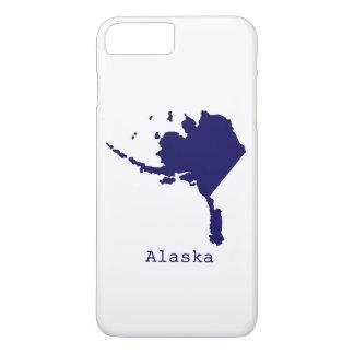 Minimales Alaska Vereinigte Staaten iPhone 8 Plus/7 Plus Hülle