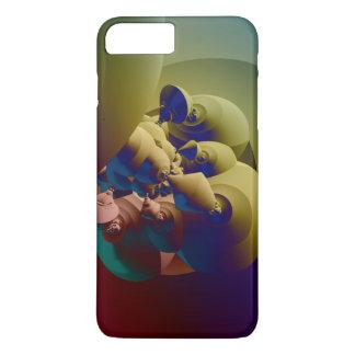 Minimales Fraktal des Falles iPhone 8 Plus/7 Plus Hülle