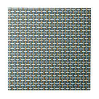 "Minimales geometrisches Muster - Japan ""dunstiger Keramikfliese"