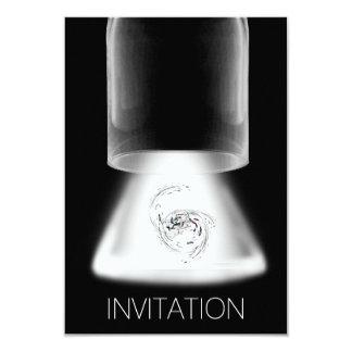Minimalismus-Festival-Konzertmoderne Vip-Einladung 8,9 X 12,7 Cm Einladungskarte