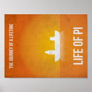"Minimalist Plakat ""Life of Pi """