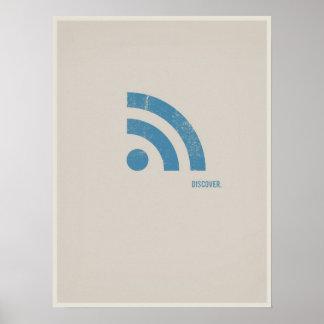 Minimalistic Plakat RSS