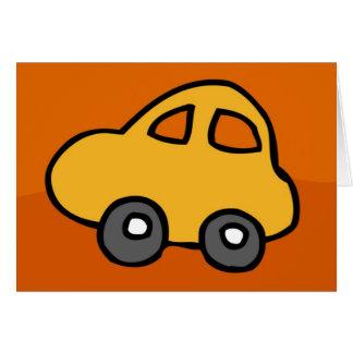 Miniminiauto - HappyBirthday alles Gute zum Karte