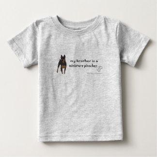 MiniPinscherBlkBrother Baby T-shirt