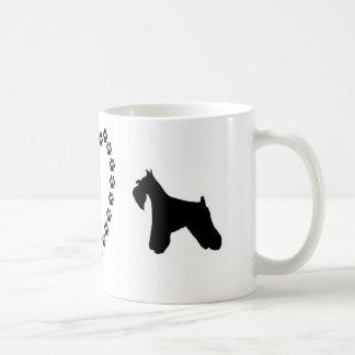 Minischnauzer-Liebe-Kaffee-Tasse Kaffeetasse