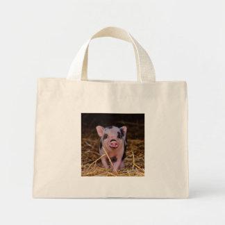 Minischwein Mini Stoffbeutel