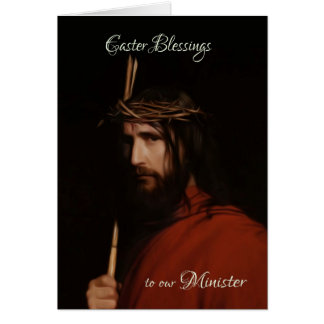 Minister - Beschreibung im Öl von Jesus, Karte