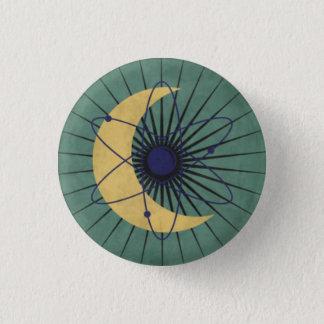 Ministerium der Bildung Runder Button 3,2 Cm