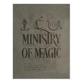 MINISTERIUM VON MAGIC™ POSTKARTE