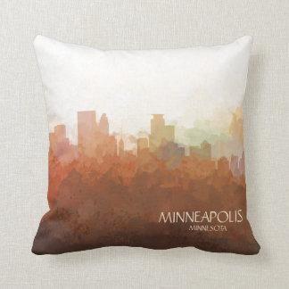 Minneapolis, Minnesota Skyline-in den Wolken Kissen