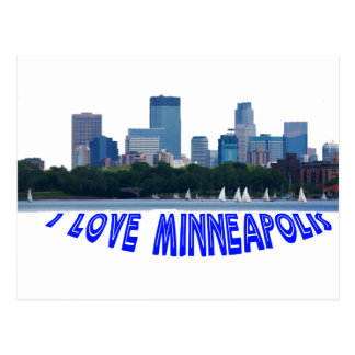Minneapolis Postkarte