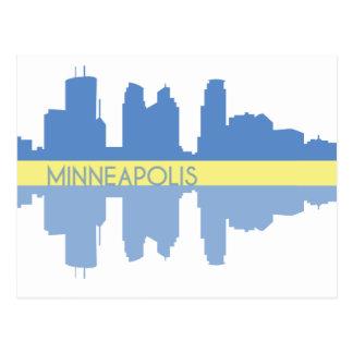 Minneapolis-Postkarte Postkarte