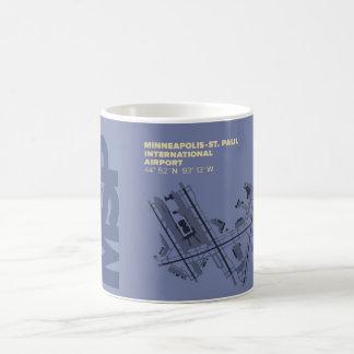 Minneapolis-St. Diagramm Paul-Flughafen-(MSP) Kaffeetasse