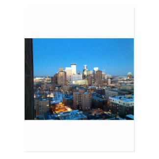 Minneapolis-Winter Postkarte