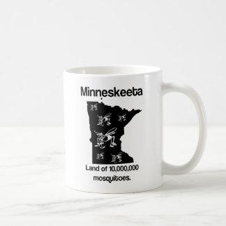 Minneskeeta Land Moskitos der lustigen Kaffeetasse