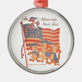 Minnesota angemessenes 1976 silbernes ornament
