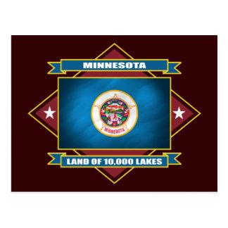 Minnesota-Diamant Postkarte