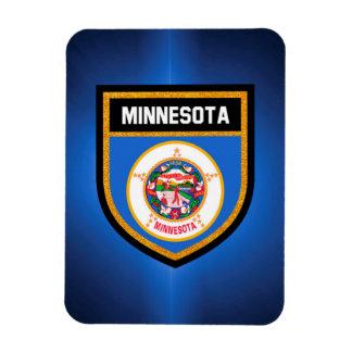 Minnesota-Flagge Magnet