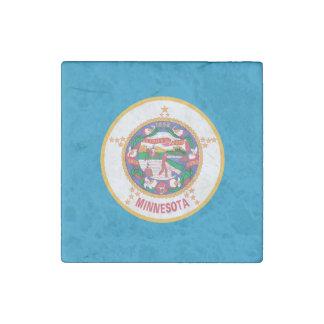 MINNESOTA-Flaggen-Entwurf - Stein-Magnet