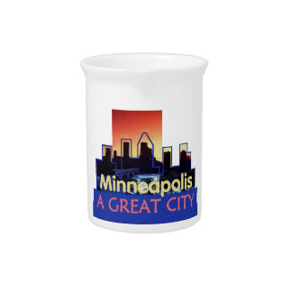 Minnesota Getränke Pitcher