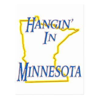 Minnesota - Hangin Postkarte