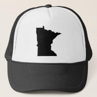 Minnesota in Schwarzweiss Truckerkappe