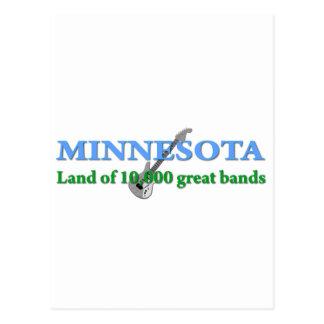 Minnesota - Land von 10.000 Bändern Postkarte