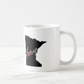 Minnesota-Liebe!  Geschenke für Mangan-Liebhaber Kaffeetasse