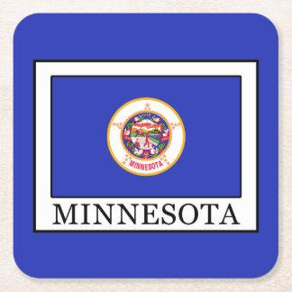 Minnesota Rechteckiger Pappuntersetzer