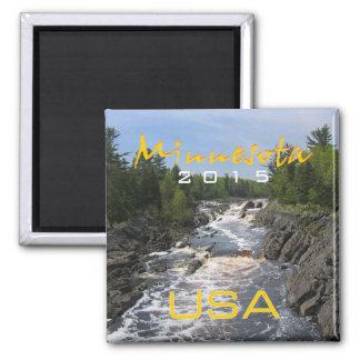 Minnesota-Staat USA-Andenken-Magnet-Änderungs-Jahr Quadratischer Magnet